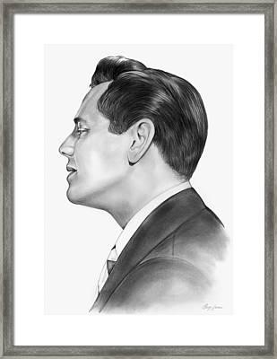 Ricky Ricardo Framed Print by Greg Joens