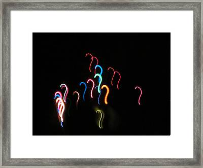 Riddle Me This Framed Print by Chris Gudger
