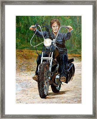Ride Don't Walk Framed Print by Tom Roderick