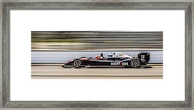 Ride Of A Lifetime Framed Print by Alan Marlowe