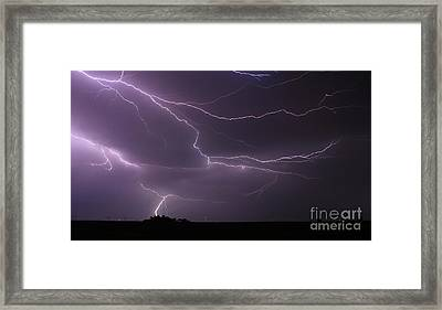 Riders In The Storm Framed Print by Thomas Danilovich