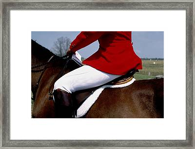 Riding Habit Framed Print by Carl Purcell