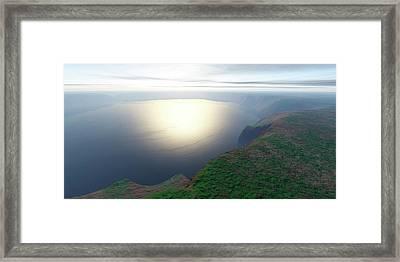 Ries Crater Framed Print by Detlev Van Ravenswaay