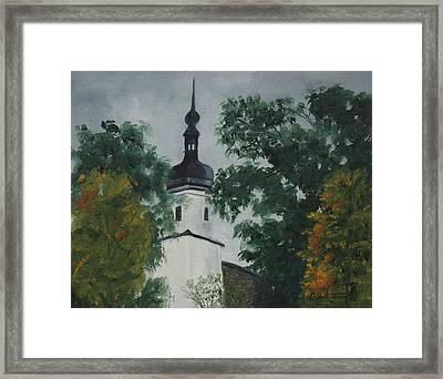 Riesa Germany Framed Print by Robert Jenson