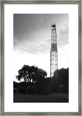 Rig 001  Framed Print by Shawn Marlow