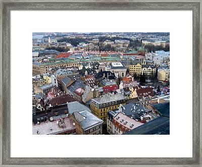 Riga Framed Print by Michael Fitzpatrick
