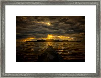 Right Or Left Framed Print by Gary Smith