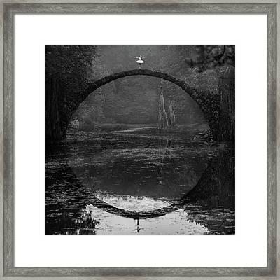 Ring Framed Print by ?ukasz Koz?owski