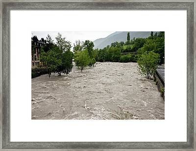 Rio Ara Flooding Framed Print by Bob Gibbons