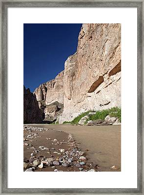 Rio Grande In Boquillas Canyon Framed Print by Jim West