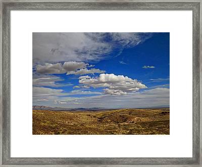 Rio Grande Valley Afternoon Framed Print by Feva  Fotos
