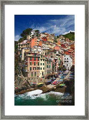 Rio Maggiore Marina Framed Print by Inge Johnsson
