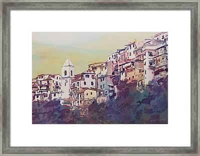 Riomaggiore Framed Print by Jenny Armitage