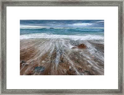 Rip Tide Framed Print by Bill Wakeley