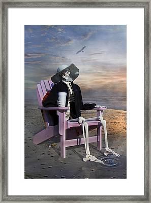 Ripple Framed Print by Betsy C Knapp
