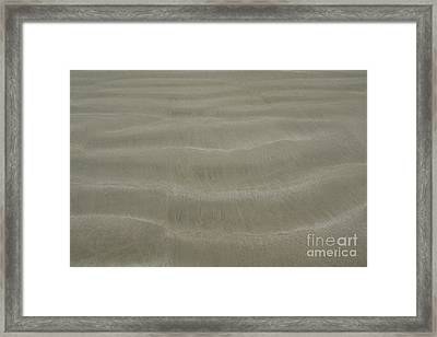 Ripple Framed Print by Carol Weitz
