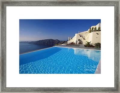 Ripples Framed Print by Aiolos Greek Collections