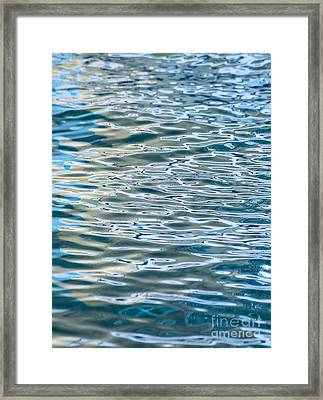 Ripples Framed Print by Jamie Pham