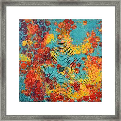 Ripples Framed Print by Moon Stumpp