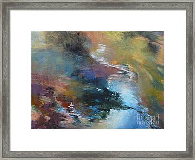 Ripples No. 2 Framed Print by Melody Cleary