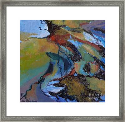 Ripples No. 7 Framed Print by Melody Cleary