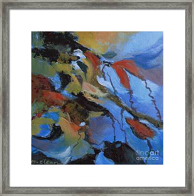 Ripples No.8 Framed Print by Melody Cleary