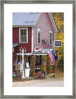 Ripton Country Store Framed Print by Charles Harden