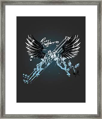 Rise Above Framed Print by Pop Culture Prophet