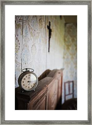 Rise And Shine Time To Get Up Abandoned Places Framed Print by Dirk Ercken