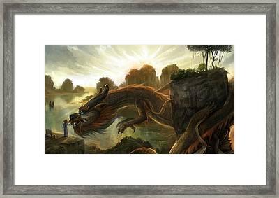 Rise Framed Print by Steve Goad