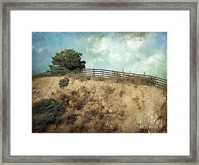 Rising Above Framed Print by Ellen Cotton