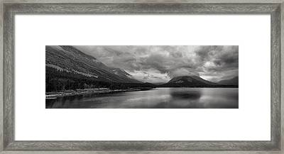 Rising Storm Clouds Framed Print by Andrew Soundarajan