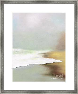 Rising Tides Framed Print by Frances Marino