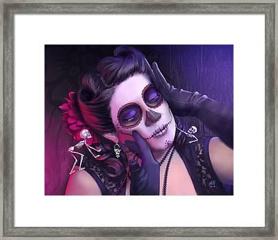 Rita Framed Print by Kevin Hill