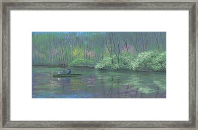 Rite Of Spring Framed Print by Garry McMichael