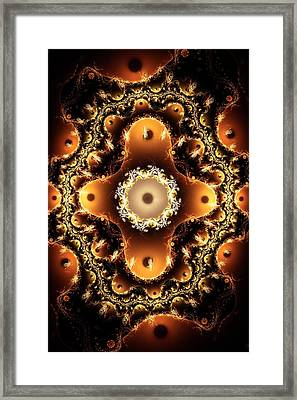 Ritual Layout Framed Print by Anastasiya Malakhova