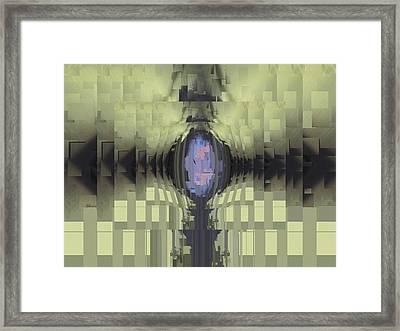 Riven Framed Print by Tim Allen