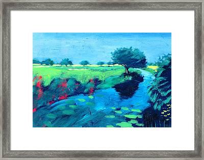 River  Framed Print by Paul Powis