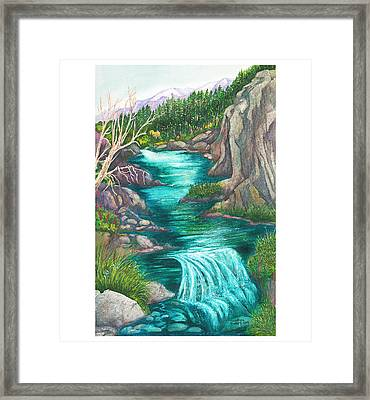 River Born Again Framed Print by Dorothea  Morgan