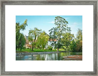 River Cam Framed Print by Tom Gowanlock