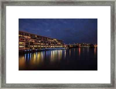 River Colors Framed Print by CJ Schmit