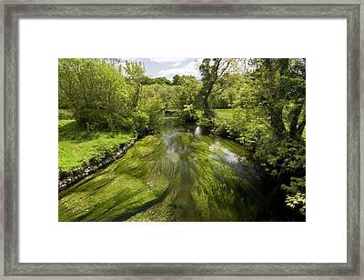River Fergus Framed Print by Bob Gibbons