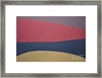 River Framed Print by Karen Francis