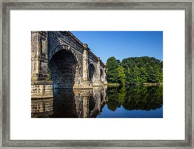 River Lune Aqueduct Framed Print by Paul Madden