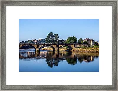 River Lune Bridge Framed Print by Paul Madden