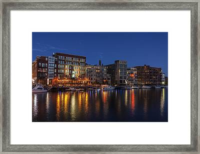 River Nights II Framed Print by CJ Schmit