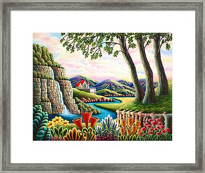 River Of Dreams 3 Framed Print by Andy Russell