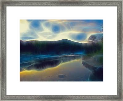River Of Dreams And Wishes Framed Print by Wendy J St Christopher