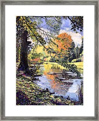 River Of Dreams Framed Print by David Lloyd Glover