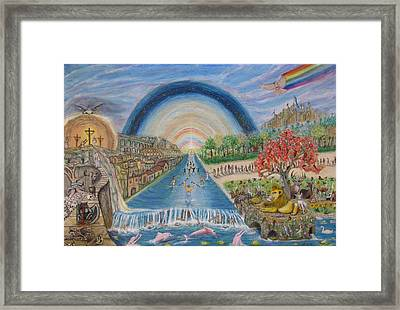 River Of Life Framed Print by Neal David Reilly